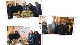 Presence of the Peivande Gole Narges charity institute in Diplomatic Charity Bazaar